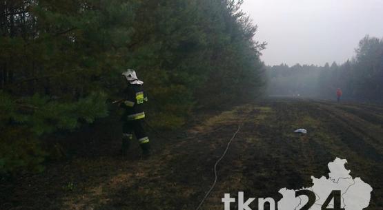 Pożar-Piaski-Słupia-Konecka