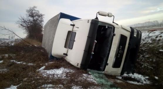Wypadek, PSP Staszów (2)