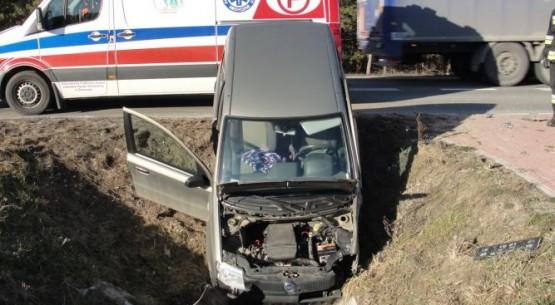 Wypadek w miejscowości Ruszcza (1)