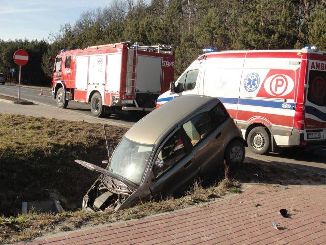 Wypadek w miejscowości Ruszcza (2)