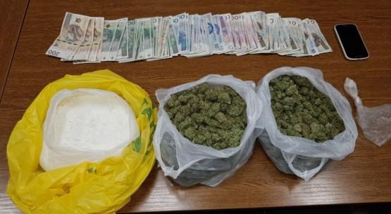 2 kg narkotyków przejęte przez policję (1)