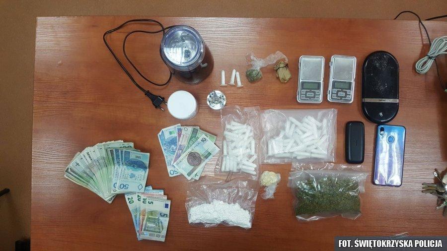 Narkotyki, Kielce