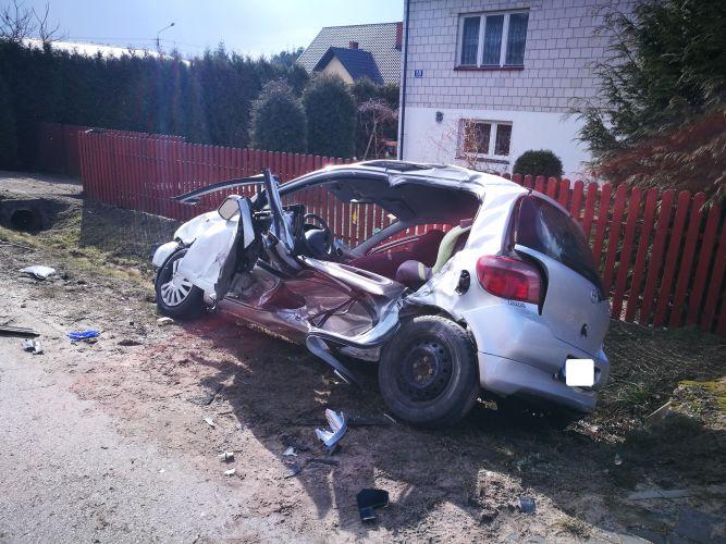 Wypadek w Kierzu Niedźwiedzim (1)