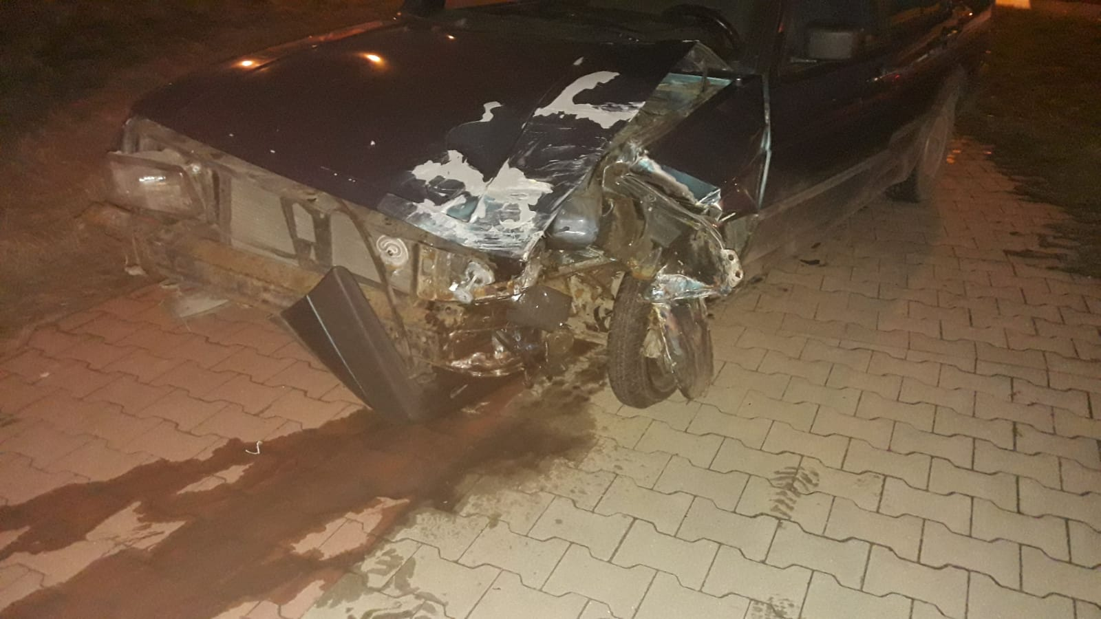 Wypadek z udziałem Jetty na obwodnicy Końskich 03