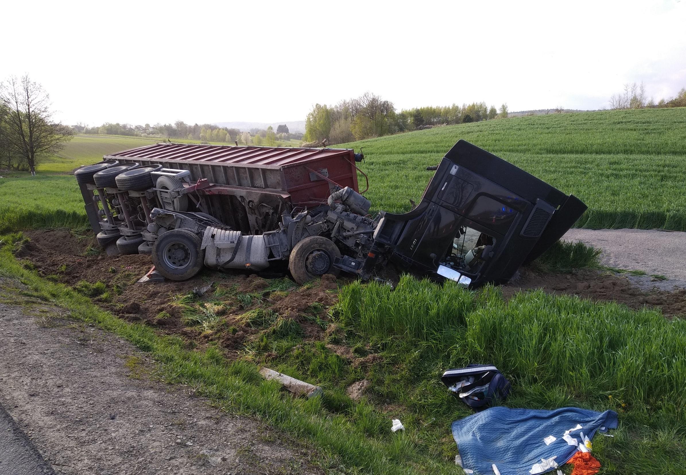 Śmiertelny wypadek w Baćkowicach (2)
