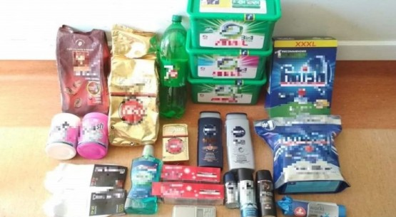 Kradli towary ze sklepu (2)