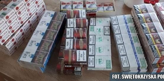 Nielegalne papierosy we Włoszczowie 03
