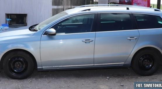 W powiecie jędrzejowskim odnaleziono skradzione auto