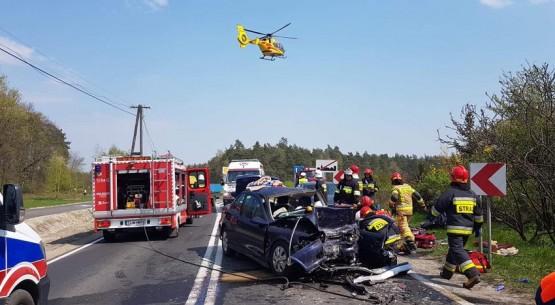 Wypadek w Moskorzewie
