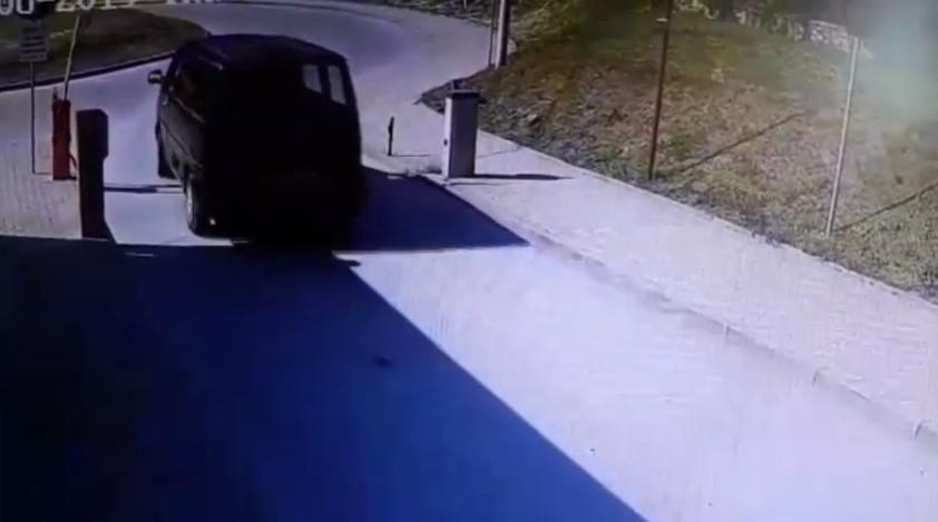 Pijany kierowca karawana