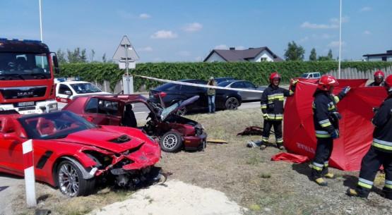 Tragiczny wypadek w Kielcach (1)
