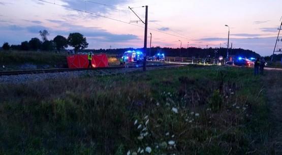 Śmiertelny wypadek na przejeździe kolejowym, Włoszczowa (2)