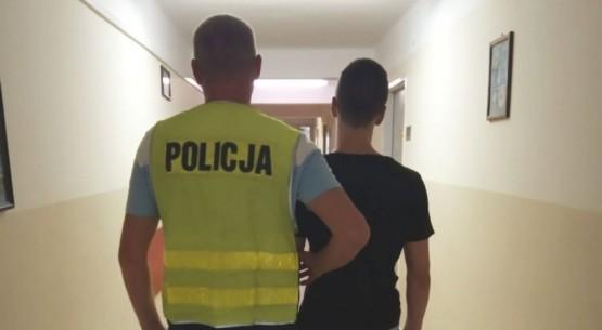 Dwaj nieletni chuligani zatrzymaniw Kielcach