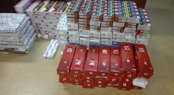 Nielegalny tytoń i automaty zabezpieczone w Radoszycach i Końskich 01