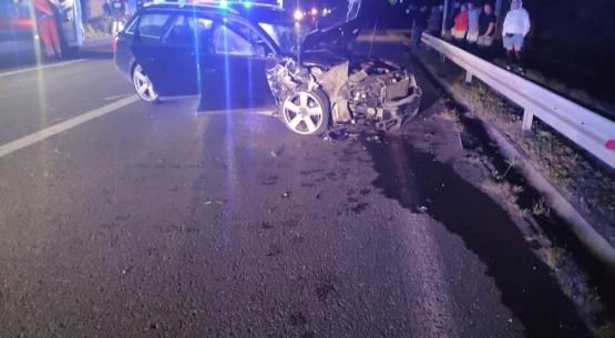 Poważny wypadek w miejscowości Łączna (1)