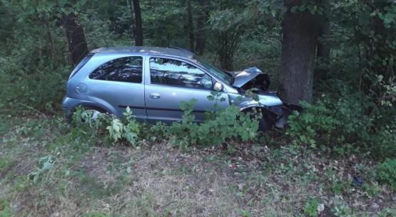Wypadek w Łoniowie