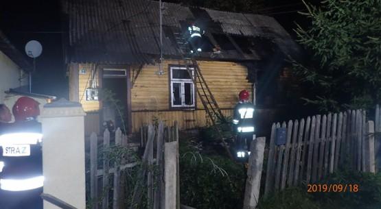 70-latek zginął w pożarze (2)