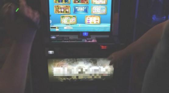 Nielegalne automaty w Kielcach
