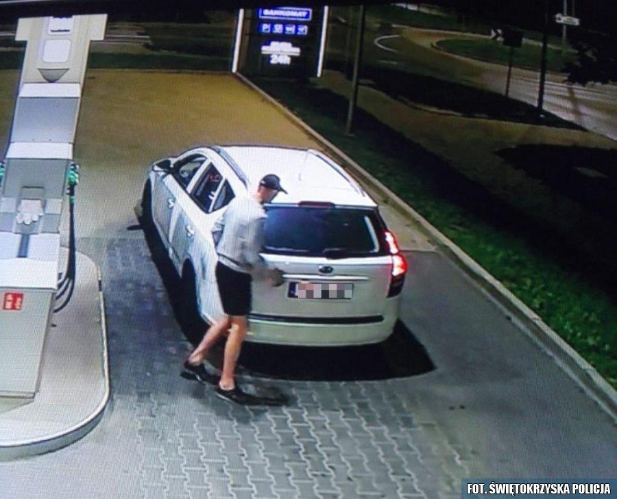 Okradał stacje benzynowe (1)