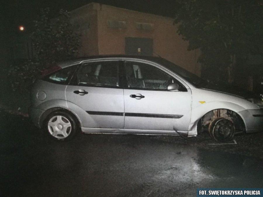 Pijany kierowca jeździł na trzech kołach