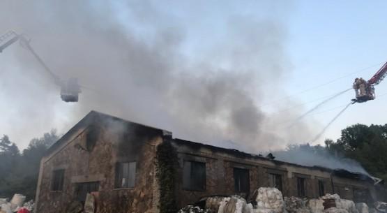 Pożar w Skarżysku-Kamiennej