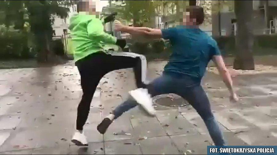 Bójki nastolatków w Busku-Zdroju