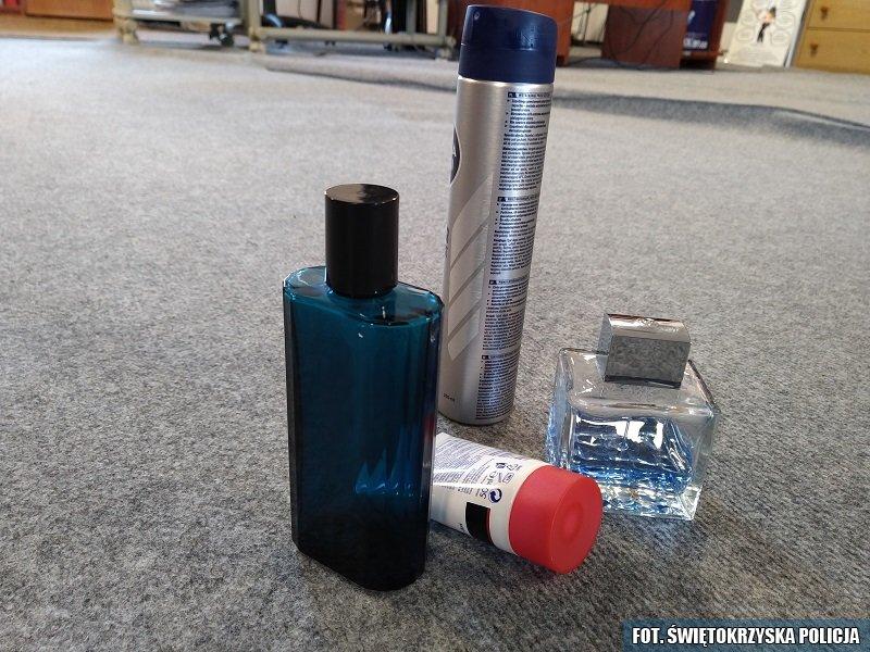 Pracownica drogerii kradła perfumy