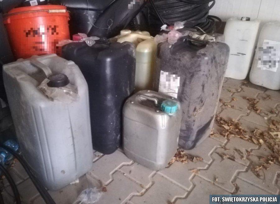 Odpowie za kradzież i sprzedaż paliwa (1)