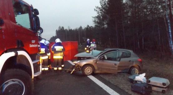 Śmiertelny wypadek w miejscowości Cisów (1)