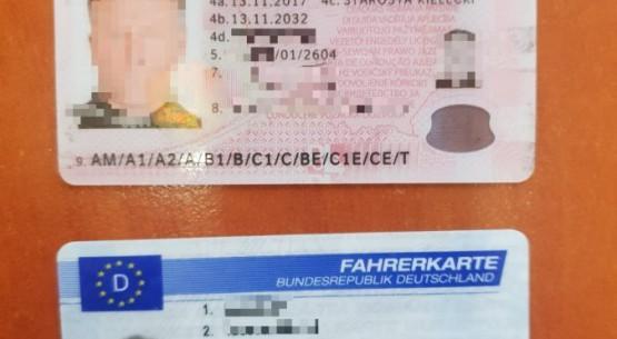 Fałszywe prawo jazdy (1)
