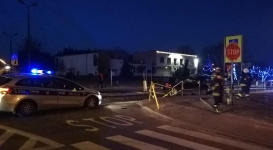Wypadek w Stąporkowie 1