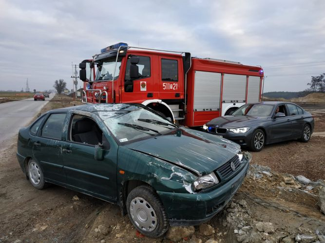 wypadek, Włoszczowa (1)