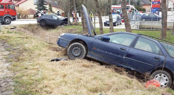 Zderzenie aut w Wodzisławiu, OSP Klemencice (3)