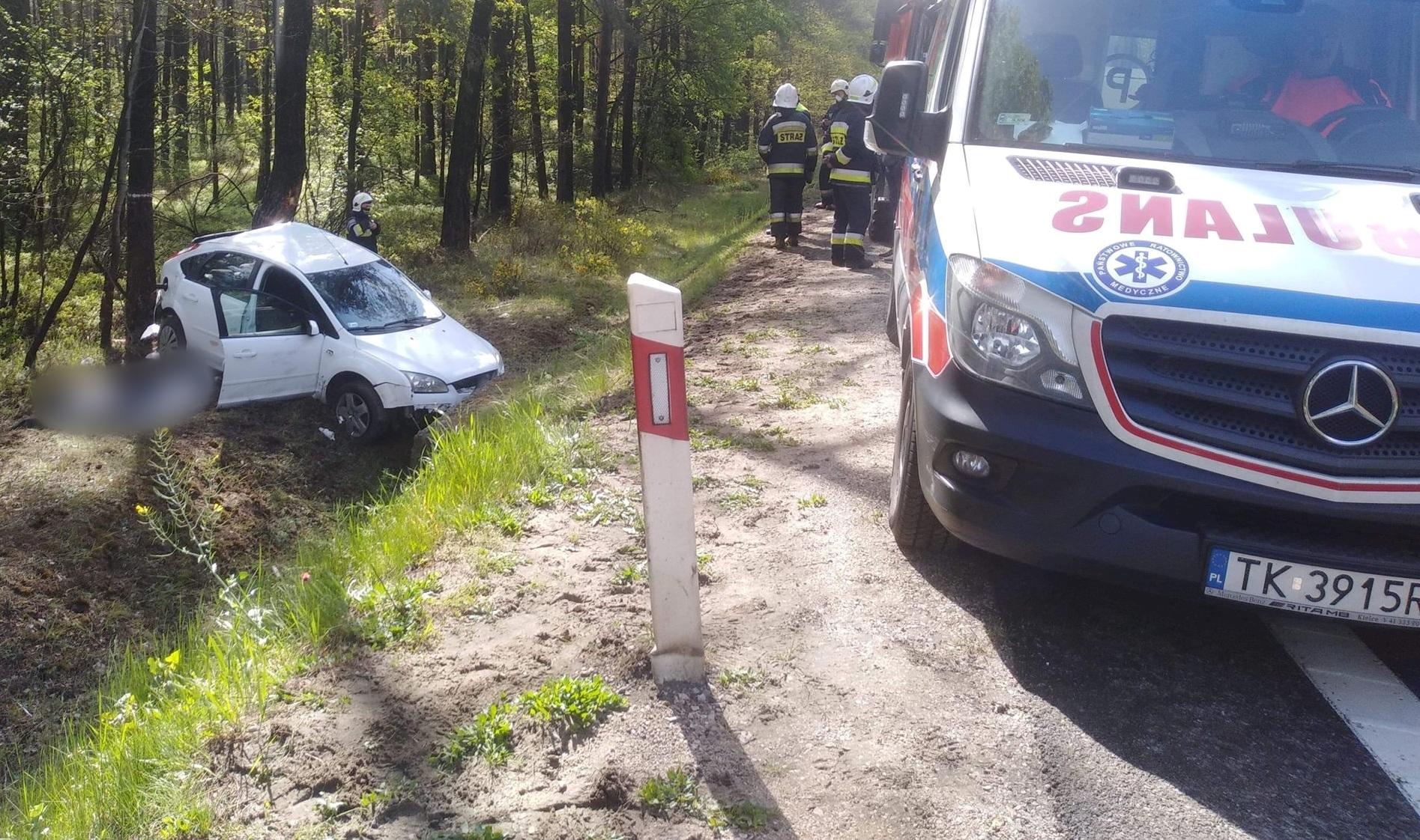 Śmiertelny-wypadek-w-miejscowości-Wiosna-na-DK74-001