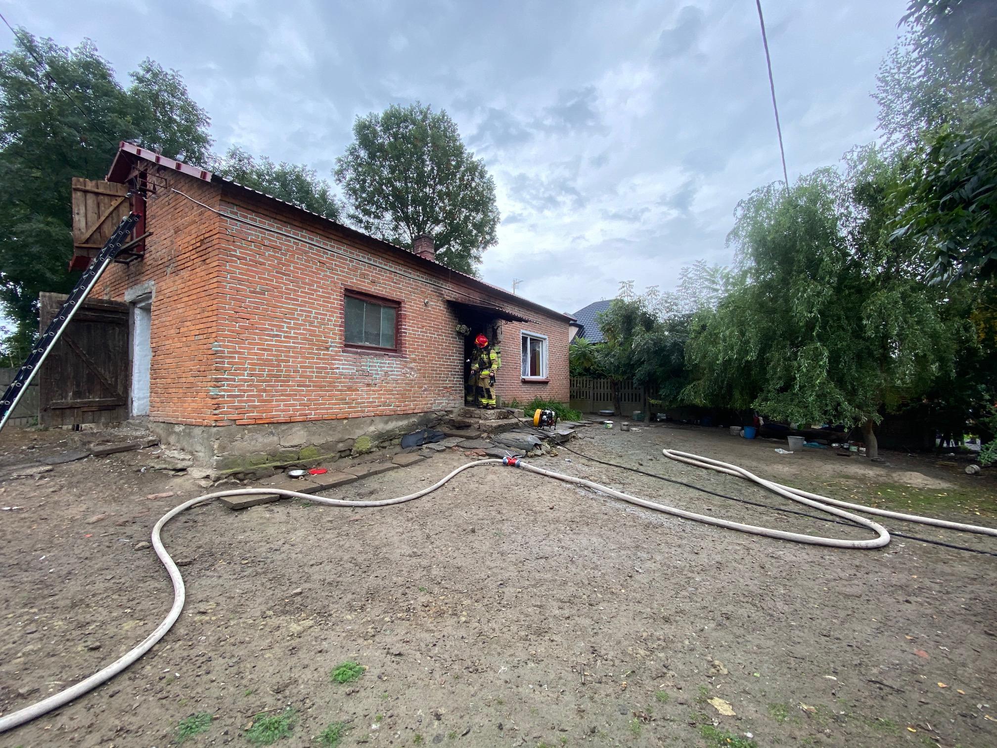 Pożar domu Pęchów (1)