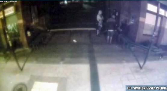Zdjęcie wykonane z kamery monitoringu