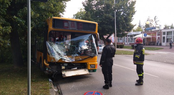 autobus po wypadku 1