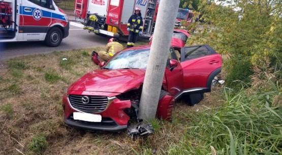 samochód po wypadku 1