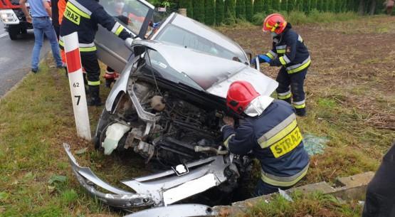 wpadek samochodu 2
