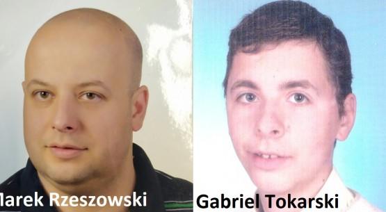 Gabriel Tokarski i Marek Rzeszowski