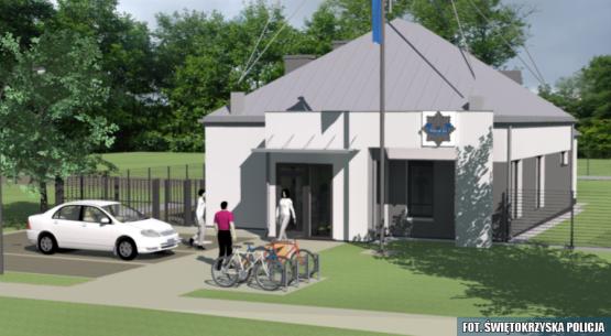 Nowa siedziba posterunku policji w Mircu (2)