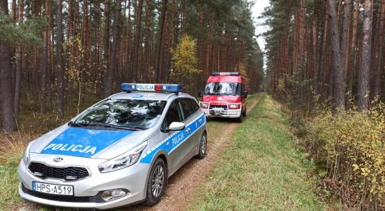 Zaginęły w lesie w Maleńcu (1)