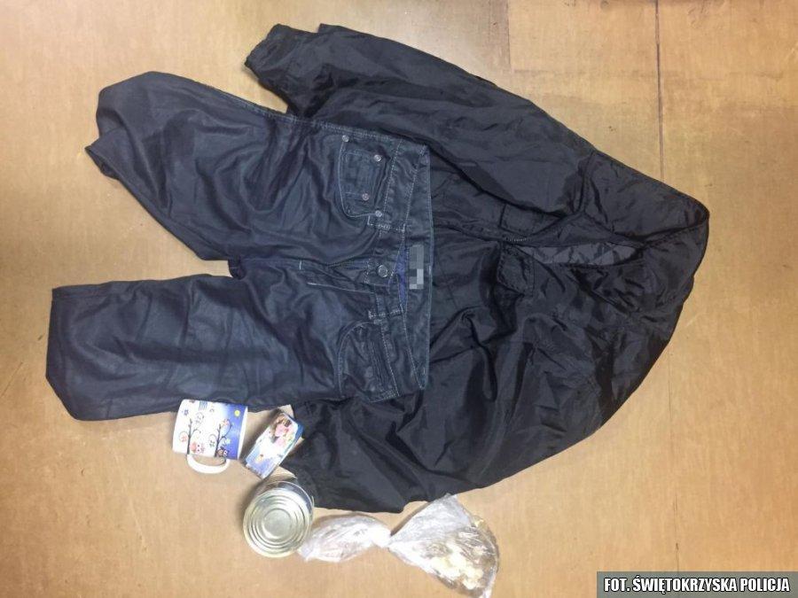 Kradzież ubrań